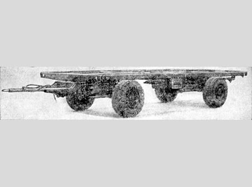Автомобильный прицеп МАЗ-8950