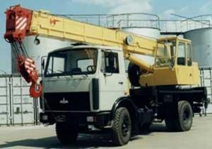 автокран кс-35714к
