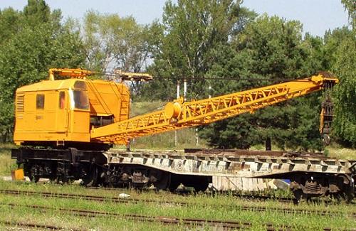 Грузоподъёмные краны на железнодорожном ходу