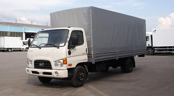 Автофургон на шасси Hyundai HD 78