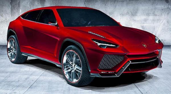 Внедорожник Lamborghini Urus