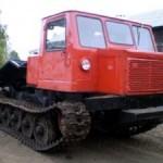 Трелёвочный трактор ТТ-4