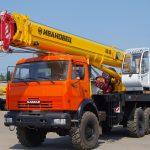 Автокран Ивановец - 25 тонн