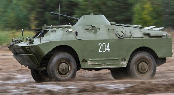 Бронированная машина БРДМ-2