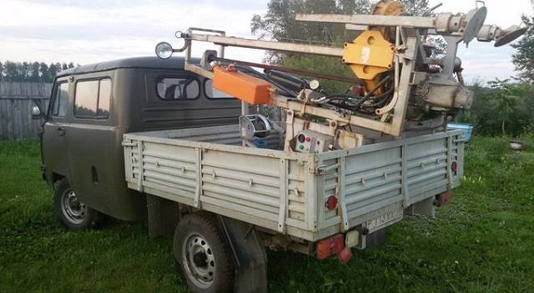Буровая установка УБШМ-1-20