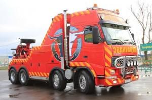 эвакуатор для грузовиков volvo fh 16