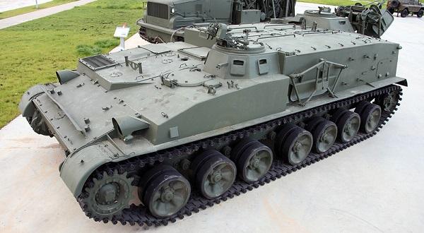 ГМЗ-2 - гусеничный минный заградитель