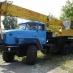 Автокран Ивановец – 25 тонн