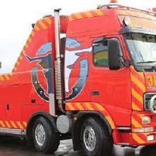Эвакуатор грузовиков на шасси Volvo FH 16