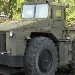 Колёсный тягач МАЗ-538