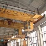 Использование мостовых кранов