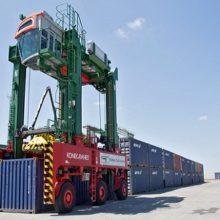 Портальный контейнеровоз 7801