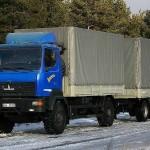 Магистральный тягач МАЗ-530905