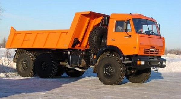 Самосвал КамАЗ-45141