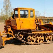 Трелёвочный трактор ТДТ-55А. Общее описание
