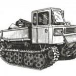 Трактор ЛХТ-55А