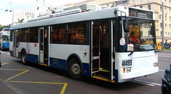 Троллейбус Тролза Оптима 5275-05