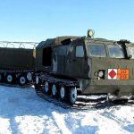 Двухзвенные транспортёры ДТ-10П и ДТ-10