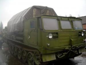 артиллерийский тягач-вездеход атс-59