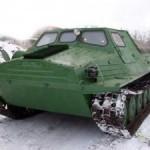 Вездеход-тягач ГТ-Т