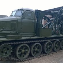 Траншейная машина БТМ-3
