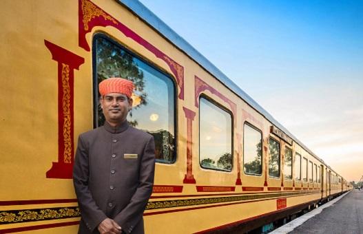 Люксовый поезд «Palace on Wheels» (Индия)