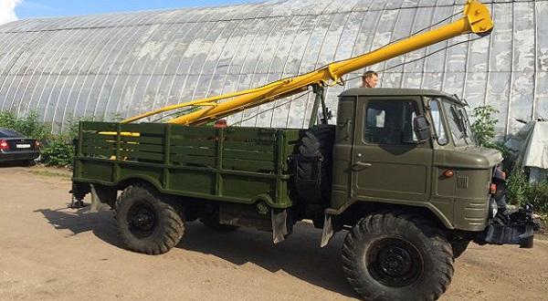 БМ-302 на шасси ГАЗ-66