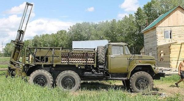 Буровая установка БГМ-1