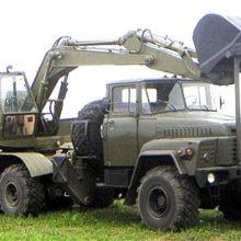 Одноковшовый экскаватор ЭОВ-4421