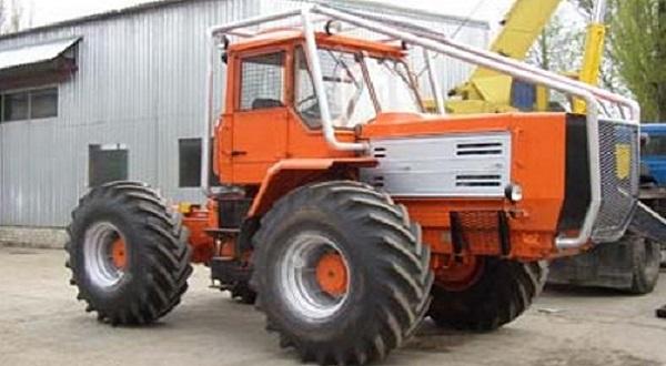 Колёсный тягач Т-157