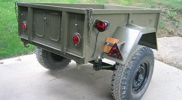 Прицеп ГАЗ-704