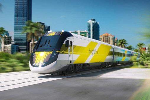 Скоростной поезд Brightline во Флориде (США)